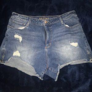 Arizona high rise shorts